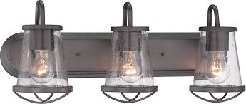 designers fountain 87003 wi darby weathered iron 3 light vanity lighting loading zoom