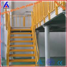 steel structure platform mezzanine floor for site office using agri office mezzanine floor