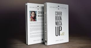 our new book cover psd mockup template is prised of the front and backside view you can choose to display both or only one to showcase your book cover