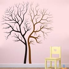 tree sticker vinyl tree family tree wall decal for home decoration green forest tree vintage home decor stickers bedroom decals for walls