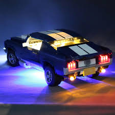 Light In The Box India Online Shopping Led Light Lighting Kit With Battery Box Only For Lego 10265 For Ford Mustang