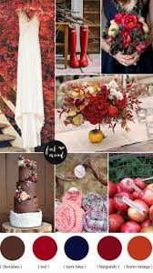 Wedding Inspiration: Fall Color Schemes | Burnt orange weddings ...