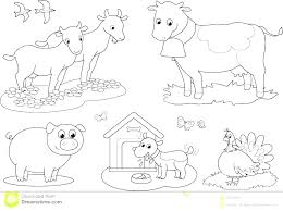 Farm Coloring Page Coiffurehommeinfo