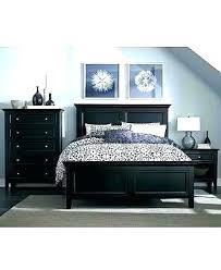 bedroom with black furniture. Black Bedroom Furniture Decor Decorating Ideas With  L
