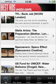 best ads tv print outdoor interactive radio bestads app campaign brief app now for both iphone android