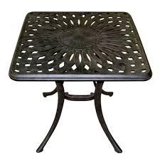 Table d'appoint Elisabeth - Paris - Sienna - Table d'appoint carrée ...