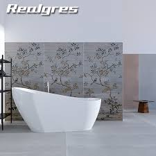 china large format porcelain tile 1800x900mm light weight shower wall panels flower art rustic thin ceramic tiles china thin tile ultra thin tiles