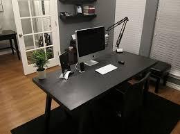 diy computer in a desk