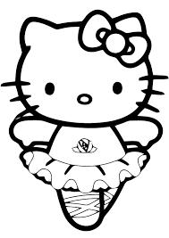 Gratis Kleurplaten Van Hello Kitty