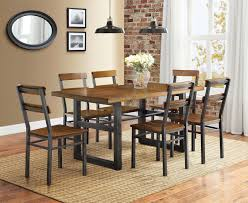 Small Picture Better Homes and Gardens Mercer 7 Piece Dining Set Walmartcom
