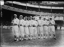 baseball the nl champion new york giants baseball team 1913 fred merkle sixth in line had committed a baserunning gaffe in a crucial 1908 game that became famous