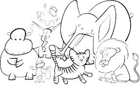 Forest Animal Coloring Pages Animals Coloring Pages Rainforest