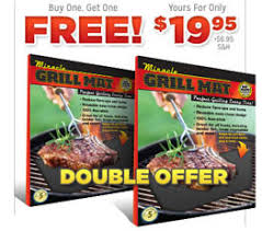 Miracle Grill Mat 2 for 1 AS SEEN ON TV Products