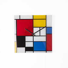 midcentury modern joris wall clock
