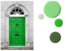green front doorsWhat does your front door colour say about you  The Fabulous