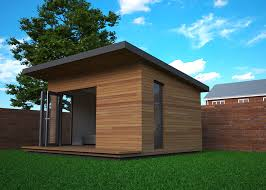 garden office designs. Mono Pitched Garden Offices Can Have A More Airy Feel Than Flat Roof Designs Office