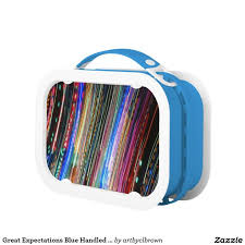 great expectations blue handled yubo lunch box