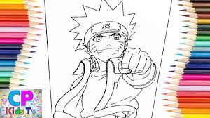 Naruto Coloring Pages For Kids 1 How To Color Naruto Coloring