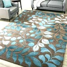 teal brown area rug turquoise rugs entry and cream throw green gold with new modern blue