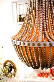wood bead chandelier diy wood bead chandelier and beaded chandelier tutorials wooden bead chandelier diy