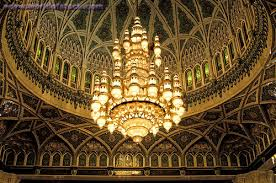 the grand mosque chandelier mu oman uae