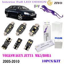 Mk5 Jetta Led Interior Lights Details About 10bulb Led Interior Light Kit Xenon White 6000k Fit 2005 2010 Vw Jetta Mk5 Bora