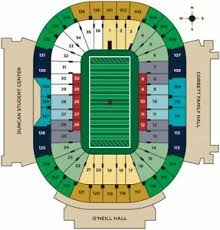 Notre Dame Football Seating Chart Rows Details About 2 Tickets To See Notre Dame Vs Boston College Football 11 23 19