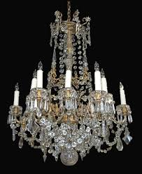 surprising idea french crystal chandelier antique fine latique antiques