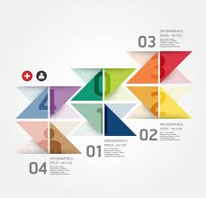 Infographics Geometry Business Chart Vector Free Vector