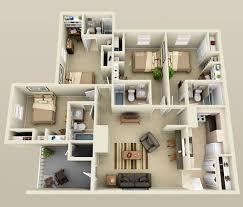 4 bedroom house designs. Brilliant Download 4 Bedroom Flat House Plans Buybrinkhomes Designs Ideas