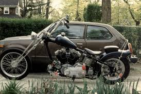 motorcycle frame and suspension