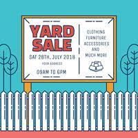 Printable Yard Sale Signs Free Vector Art 3 Free Downloads