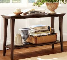Impressive Sofa Table Decor Pottery Barn Throughout Concept Design
