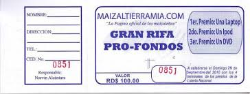 formato boletos rifa boletos de rifas para imprimir gratis imagui rifa pinterest