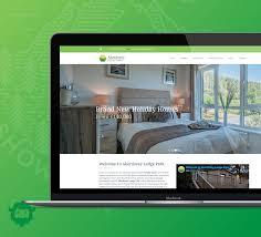 Web Design Mid Wales Web Design For Aberdovey Lodge Park Pixel Yeti Media