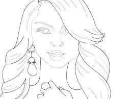 Descendants Coloring Pages Mal And Evie Descendants Coloring Pages 1