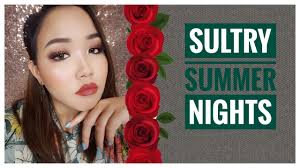 tutorial sultry summer nights cranberry eyes shirleen t makeup artist vidio