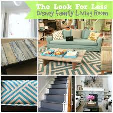 5 Ways to Get This Look: Disney Family Living Room - Infarrantly Creative