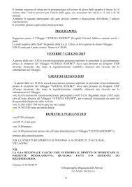 Uisp Sicilia Comunicato N 2 Rassegne Regionali