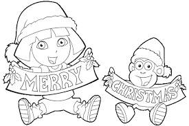 Nick Jr Christmas Coloring Pages Getcoloringpagescom