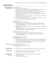 Resume Templates Beauty Manager Sample Cv Example Sle Cv Quality