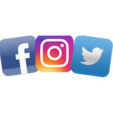 facebook twitter instagram logo. Contemporary Instagram Latest Icon Gif Facebook Twitter Instagram Logo Png Transparent Stock And Twitter Instagram Logo