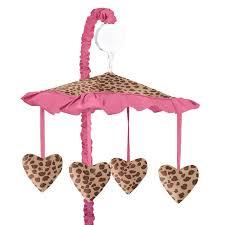 Sweet Jojo Designs Cheetah Girl Collection Sweet Jojo Designs Cheetah Girl Collection Colored Fabric