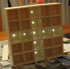 daft punk coffee table 5 5 led matrix