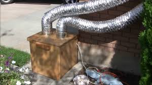diy garage exhaust fan and air filter for woodworking and finishing you