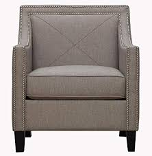 tov furniture the asheville collection elegant modern linen fabric upholstered wood living room accent arm chair