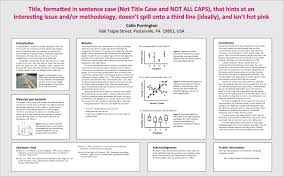 Research Poster Layouts Poster Design Advice Academic Posters Mhc Library Guides At