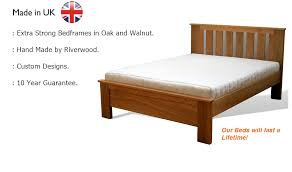 handmade wooden beds solid oak bed frames
