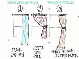 Short Length Bedroom Curtains What Length Should Your Curtains Be