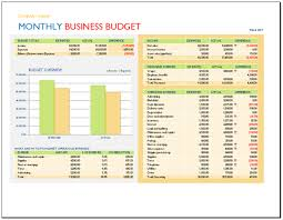 Monthly Business Expenses Template Classy Business Monthly Budget Template Whitesoysauce